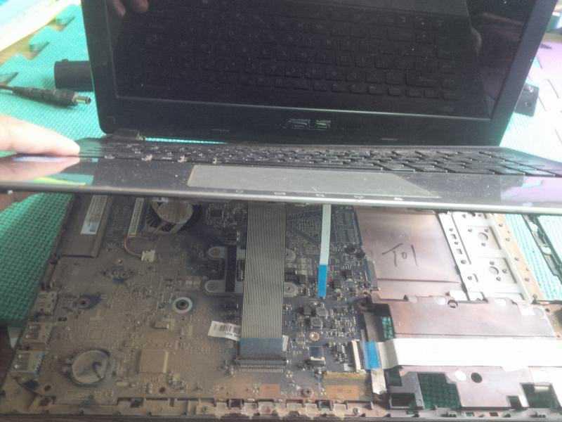 Vệ sinh laptop Asus đúng cách