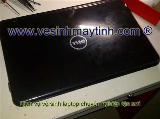 vệ sinh laptop dell inspison