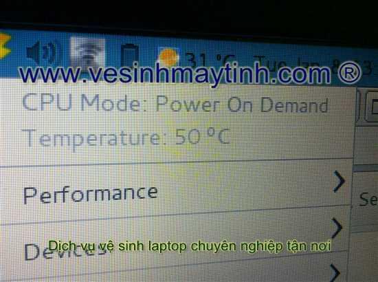 giảm nhiệt đồ laptop dell rõ rệt