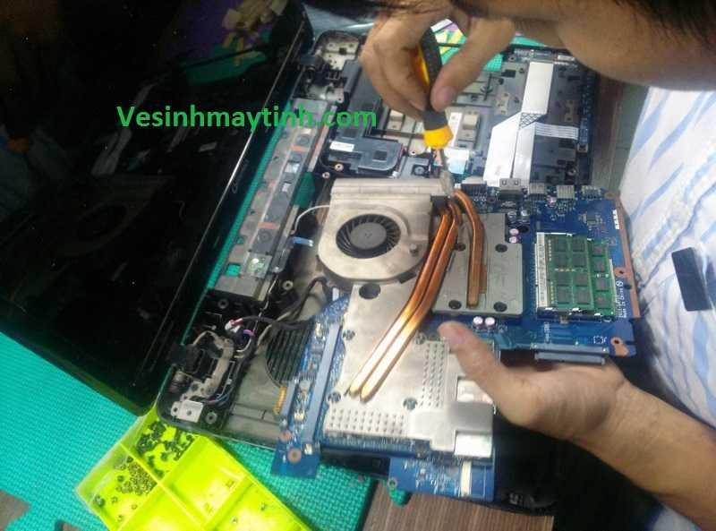 Bảo dưỡng laptop Toshiba
